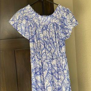 Vineyard Vines off the shoulder dress